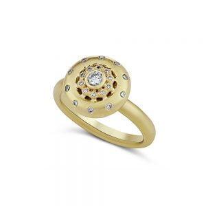 טבעת זהב וינטג׳ מיוחדת